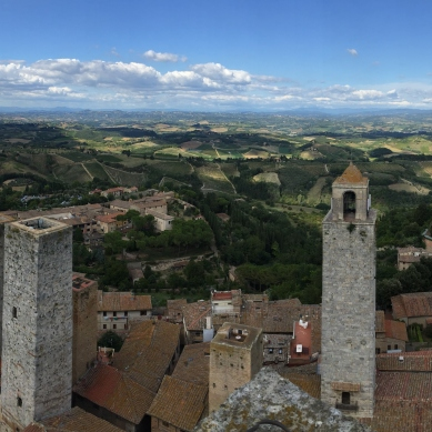 Sah Geminiano panorama